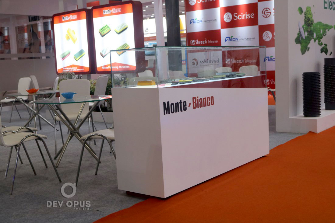 Exhibition Stall Construction For Monte Bianco - Dev Opus