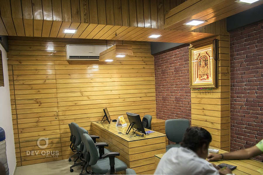 Interior Design For Office Of Shakti Corporation In Ahmedabad Dev Opus Pvt Ltd Exhibition Stall Design Brochure Design Packaging Design Branding Design Product Photography At Ahmedabad India